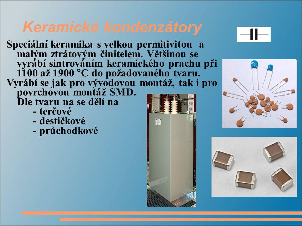 Keramické kondenzátory