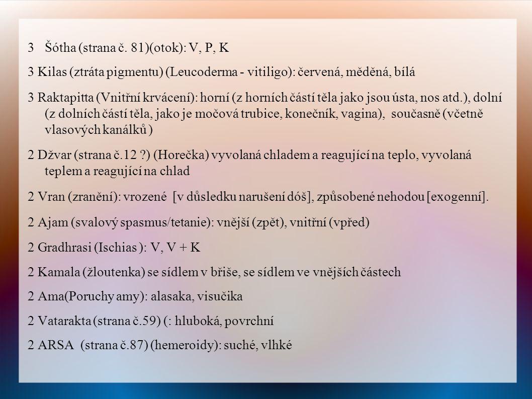 3 Šótha (strana č. 81)(otok): V, P, K