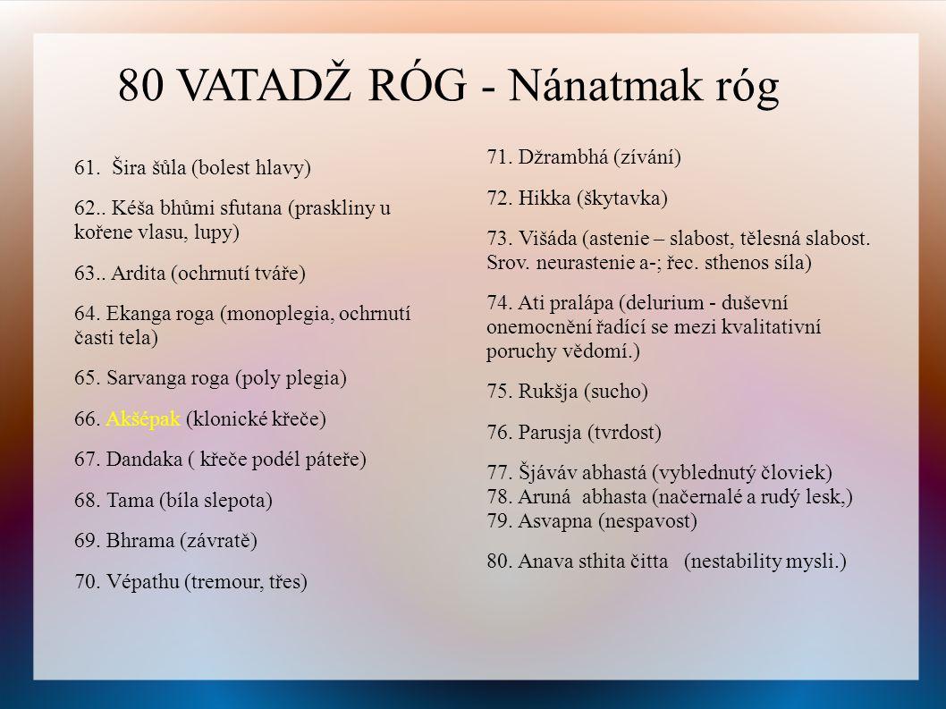 80 VATADŽ RÓG - Nánatmak róg