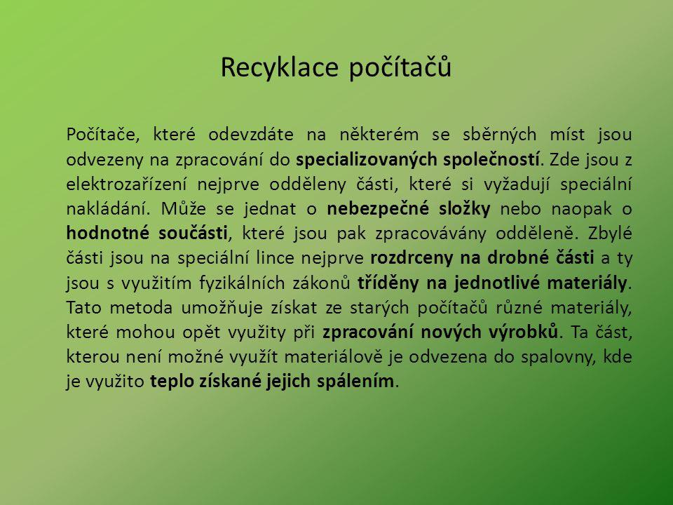 Recyklace počítačů