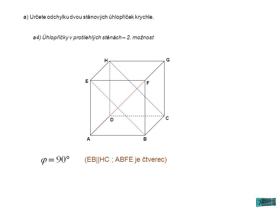 (EB||HC ; ABFE je čtverec)