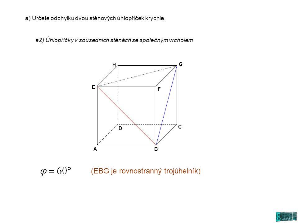 (EBG je rovnostranný trojúhelník)