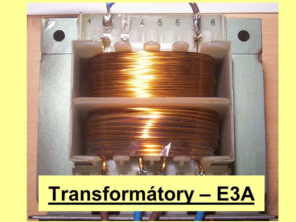 Transformátory – E3A