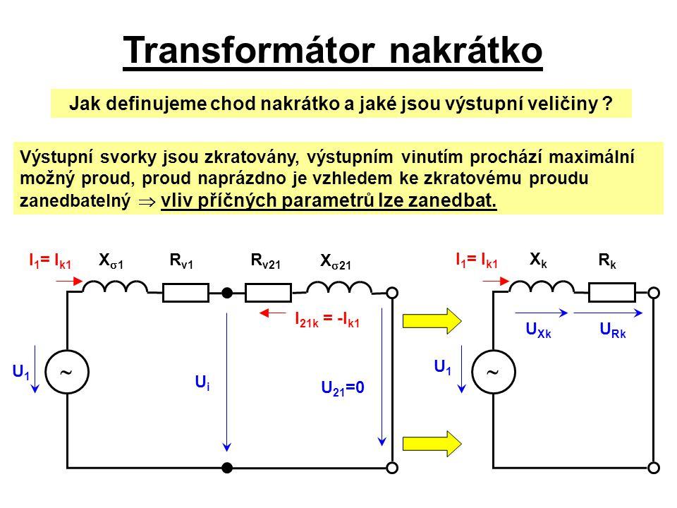 Transformátor nakrátko