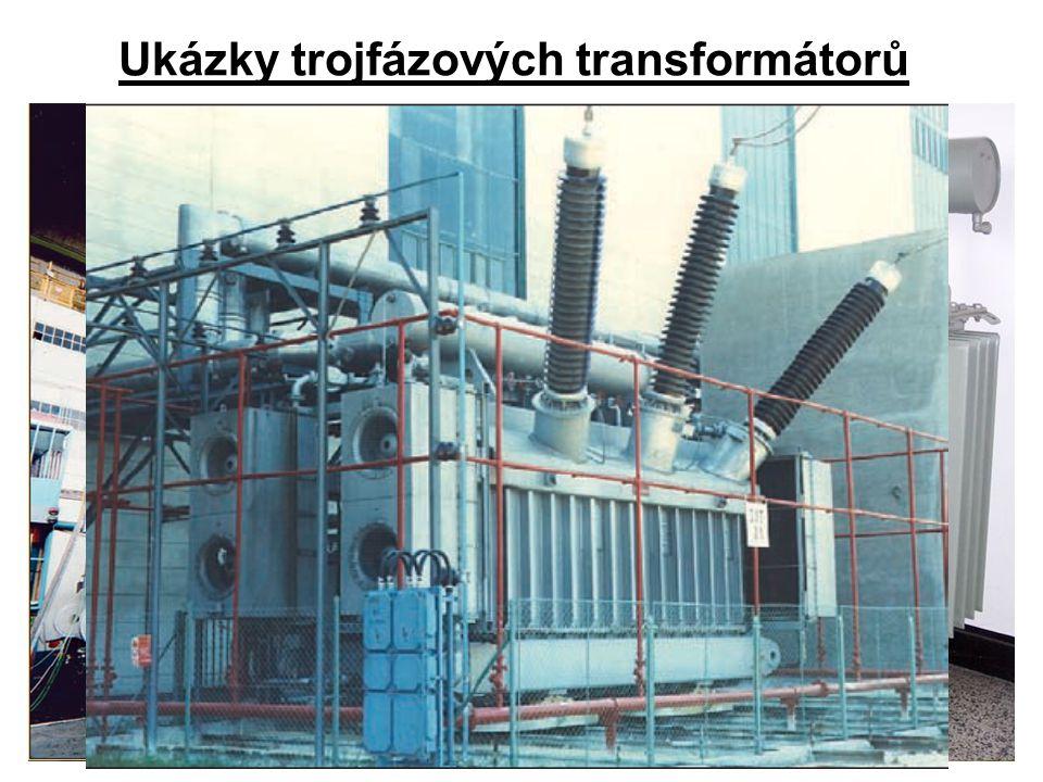 Ukázky trojfázových transformátorů