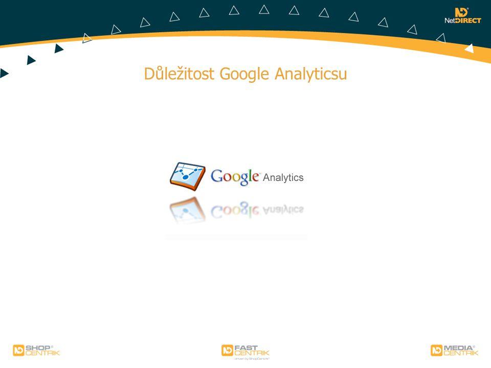Důležitost Google Analyticsu