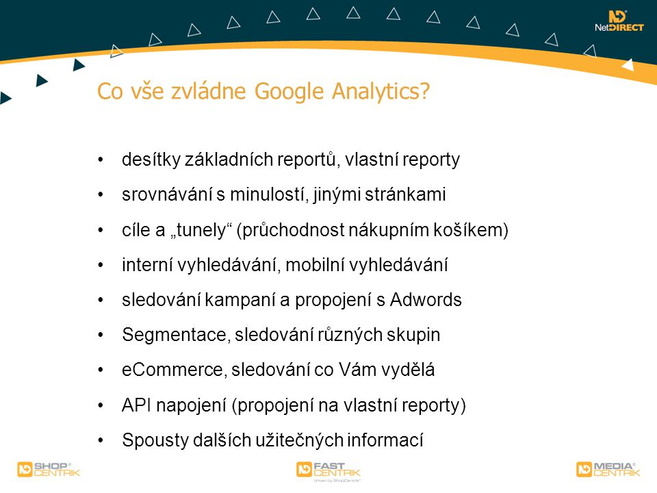 Co vše zvládne Google Analytics