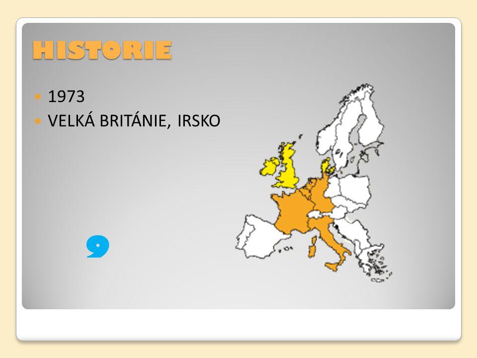 HISTORIE 1973 VELKÁ BRITÁNIE, IRSKO 9