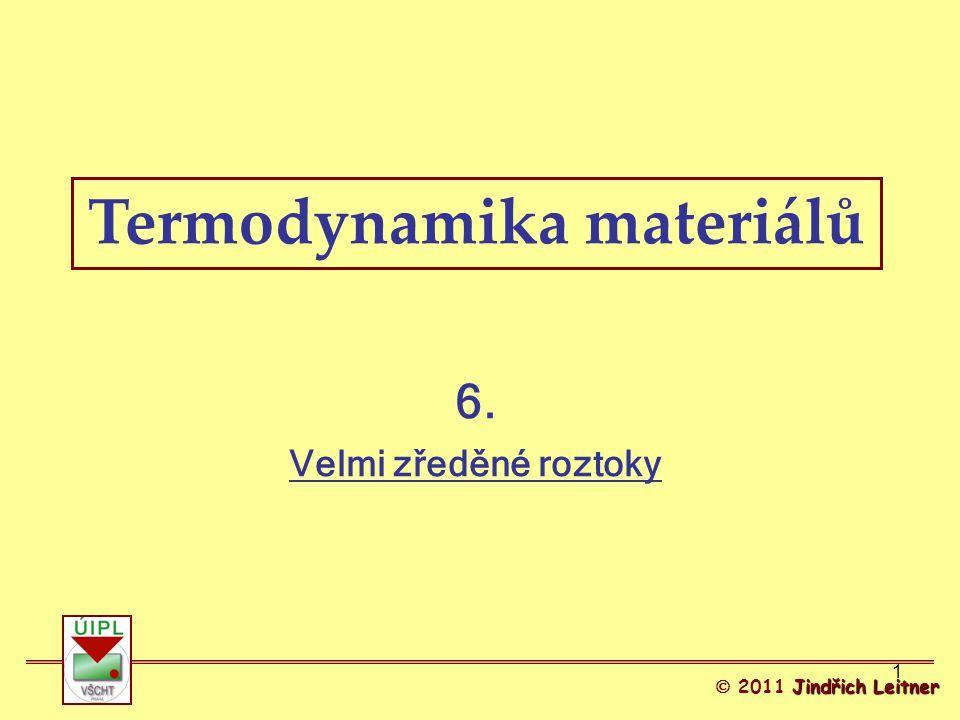 Termodynamika materiálů