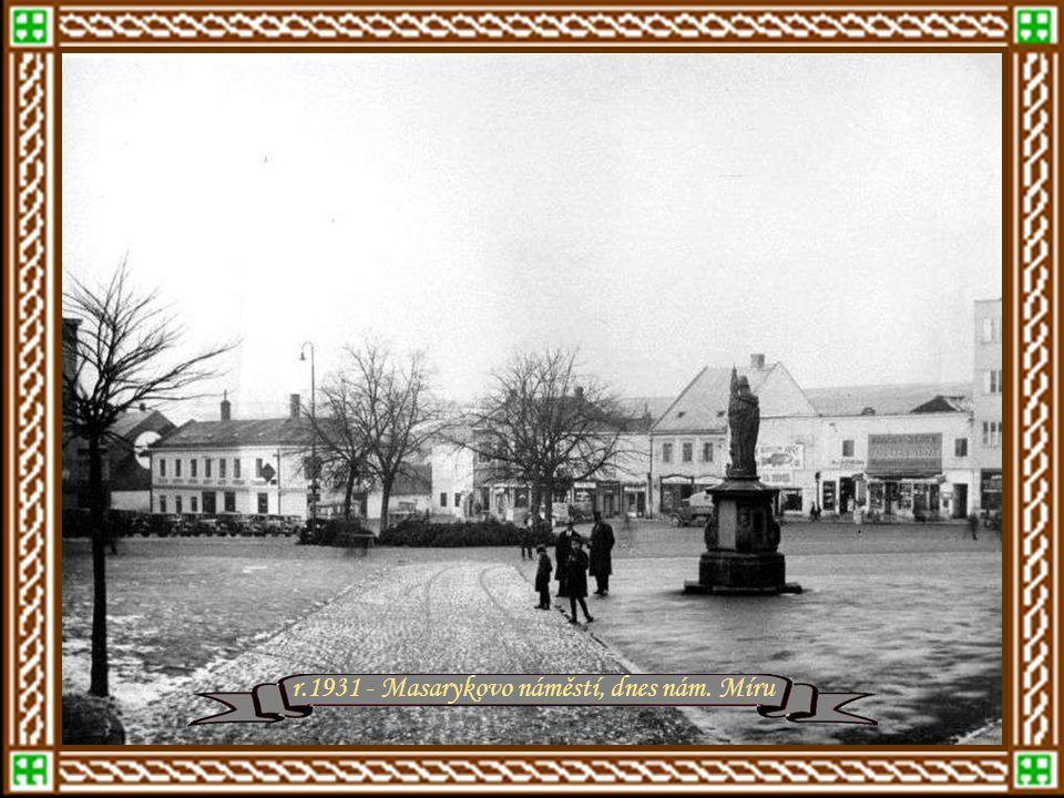 Zlín mezi roky 1930 - 1940 Zlínská sokolovna – rok 1930