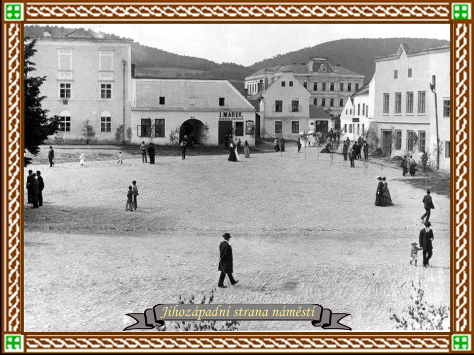 ZLÍN po roku 1900 Rok 1901 - Dnešní náměstí Míru