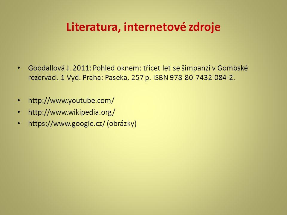 Literatura, internetové zdroje