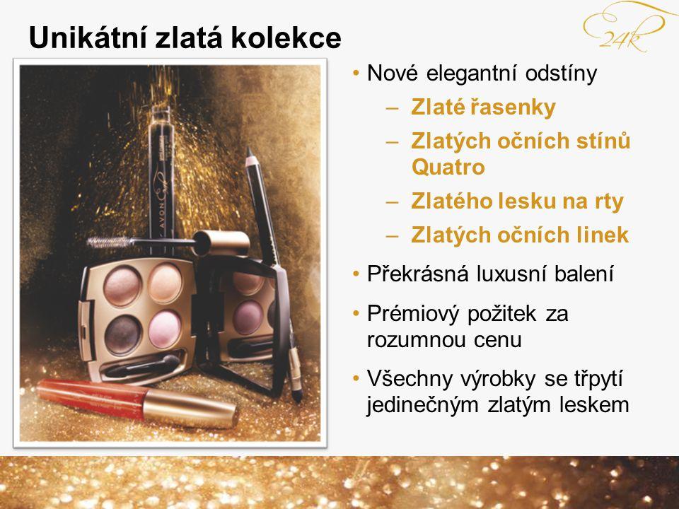 Unikátní zlatá kolekce