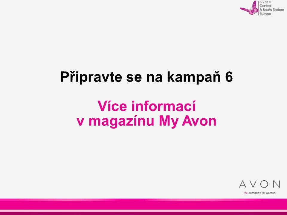 Více informací v magazínu My Avon