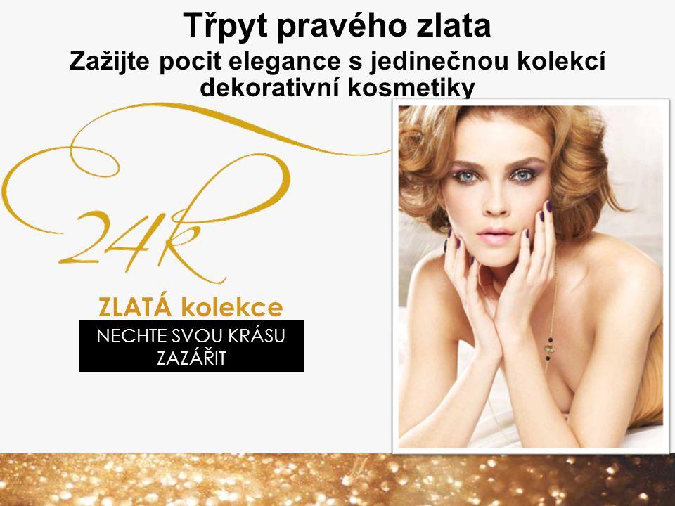 Zažijte pocit elegance s jedinečnou kolekcí dekorativní kosmetiky