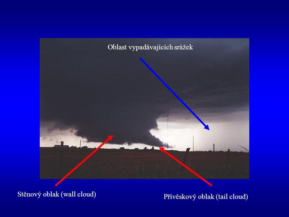 Oblast vypadávajících srážek