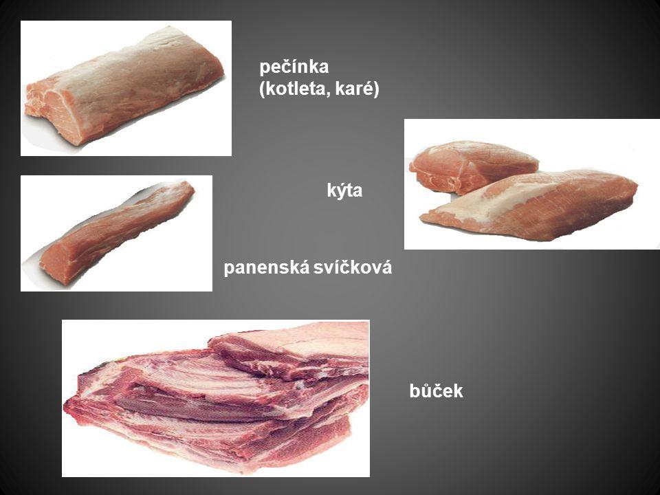 pečínka (kotleta, karé)