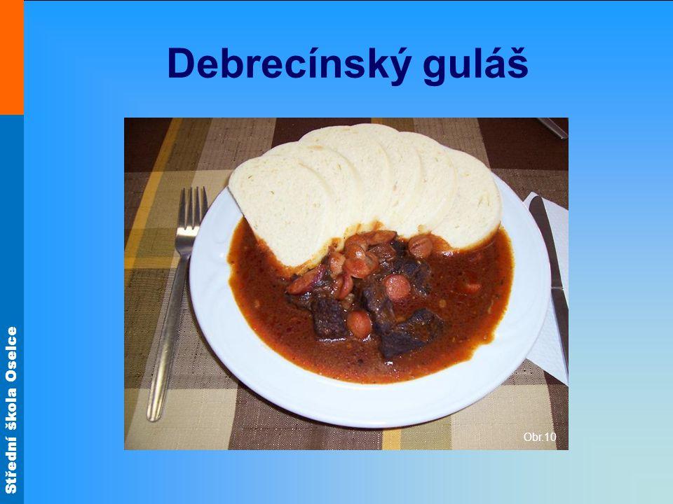 Debrecínský guláš Obr.10