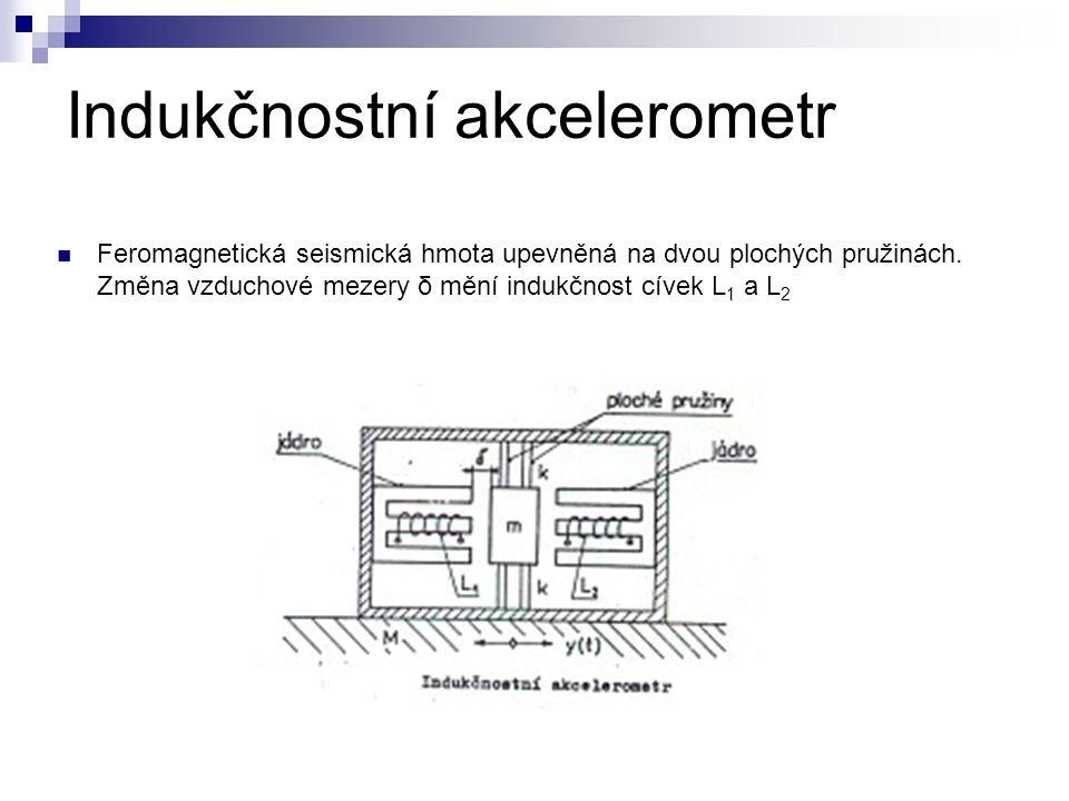Indukčnostní akcelerometr