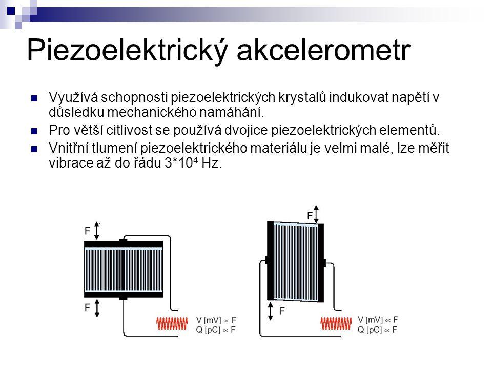Piezoelektrický akcelerometr