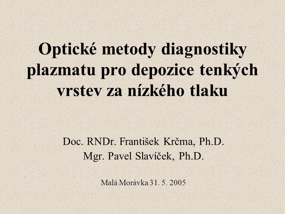 Doc. RNDr. František Krčma, Ph.D.