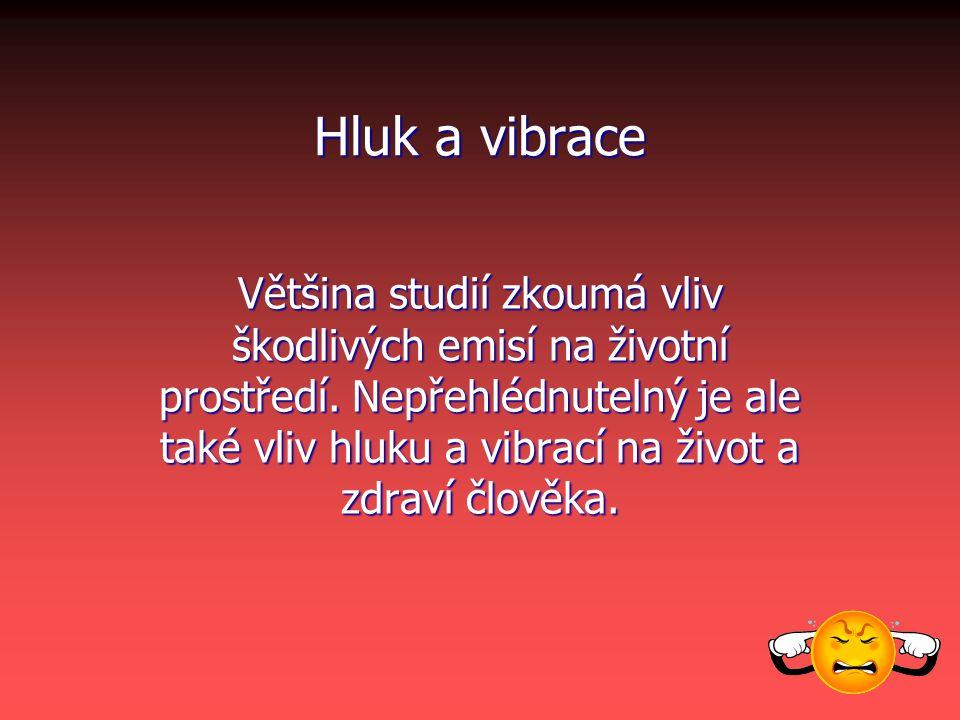 Hluk a vibrace