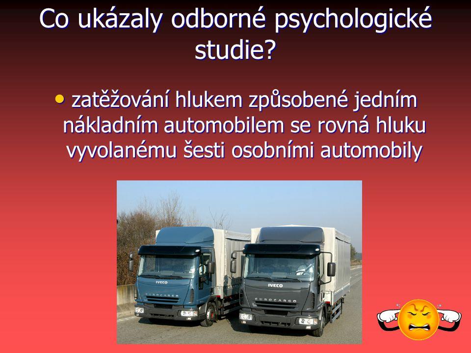 Co ukázaly odborné psychologické studie