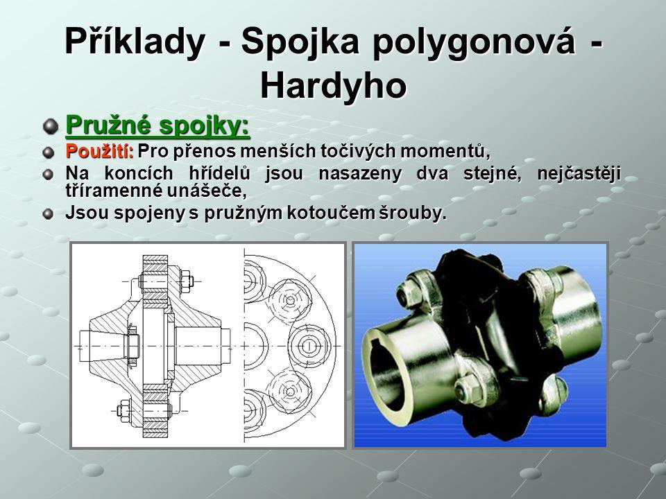 Příklady - Spojka polygonová - Hardyho