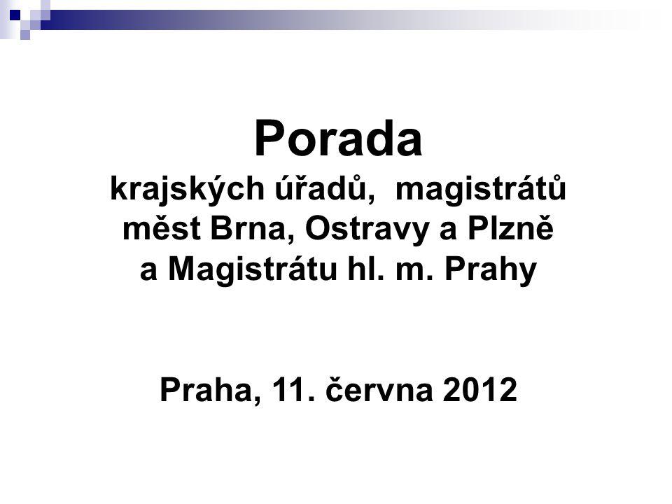 Porada krajských úřadů, magistrátů měst Brna, Ostravy a Plzně a Magistrátu hl.