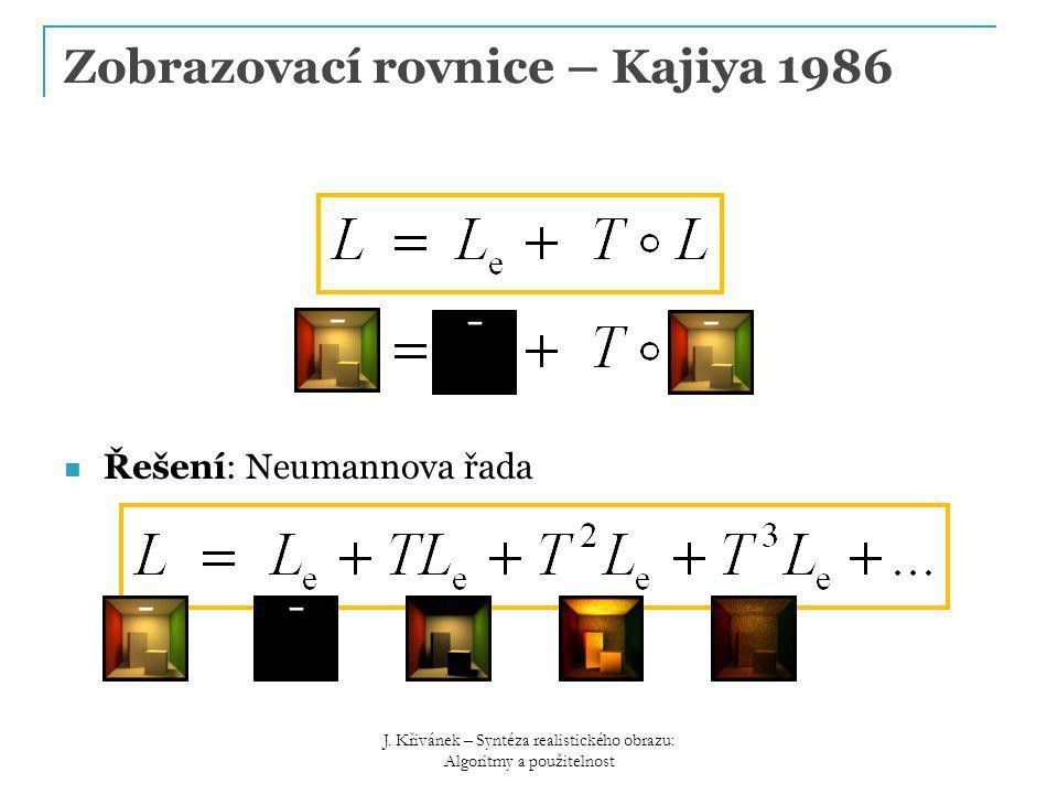 Zobrazovací rovnice – Kajiya 1986