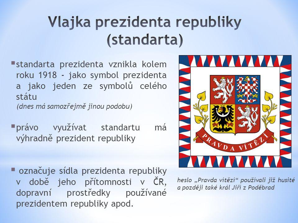 Vlajka prezidenta republiky (standarta)