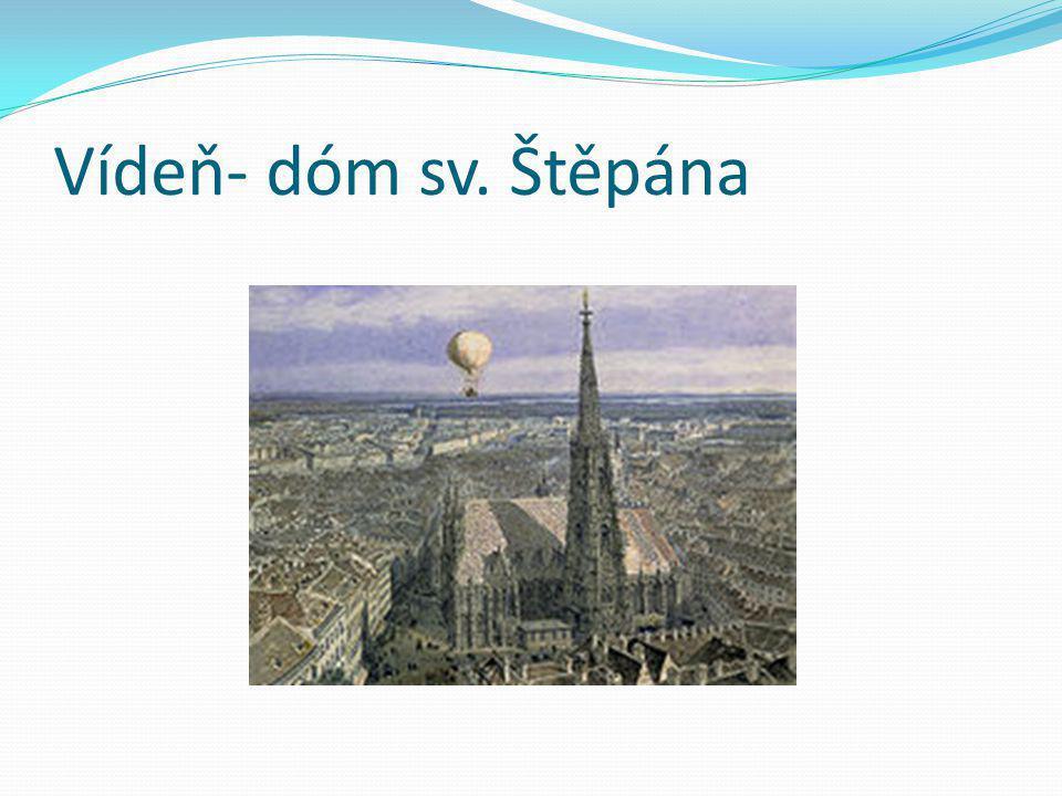 Vídeň- dóm sv. Štěpána