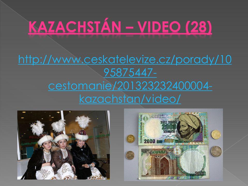 Kazachstán – Video (28) http://www.ceskatelevize.cz/porady/1095875447-cestomanie/201323232400004-kazachstan/video/