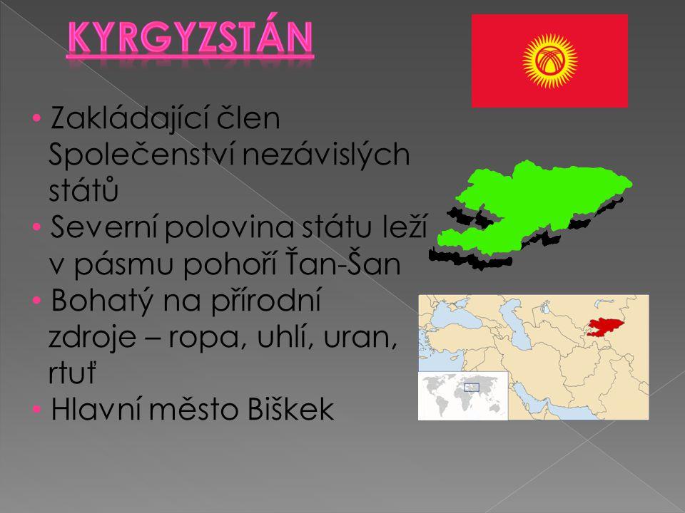 Kyrgyzstán Zakládající člen Společenství nezávislých států