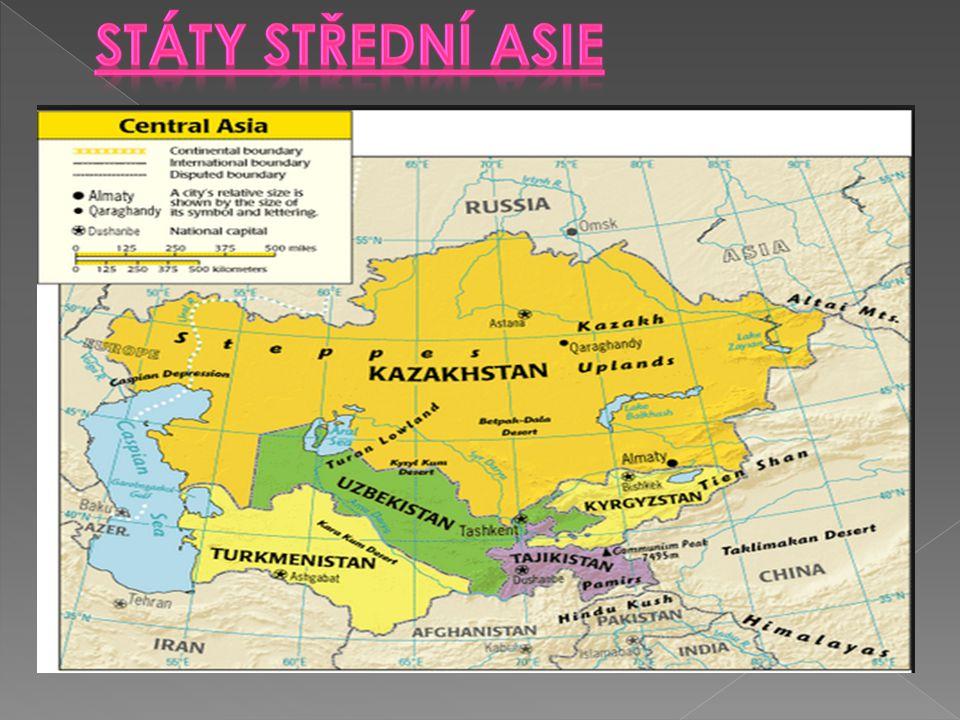 Státy střední Asie