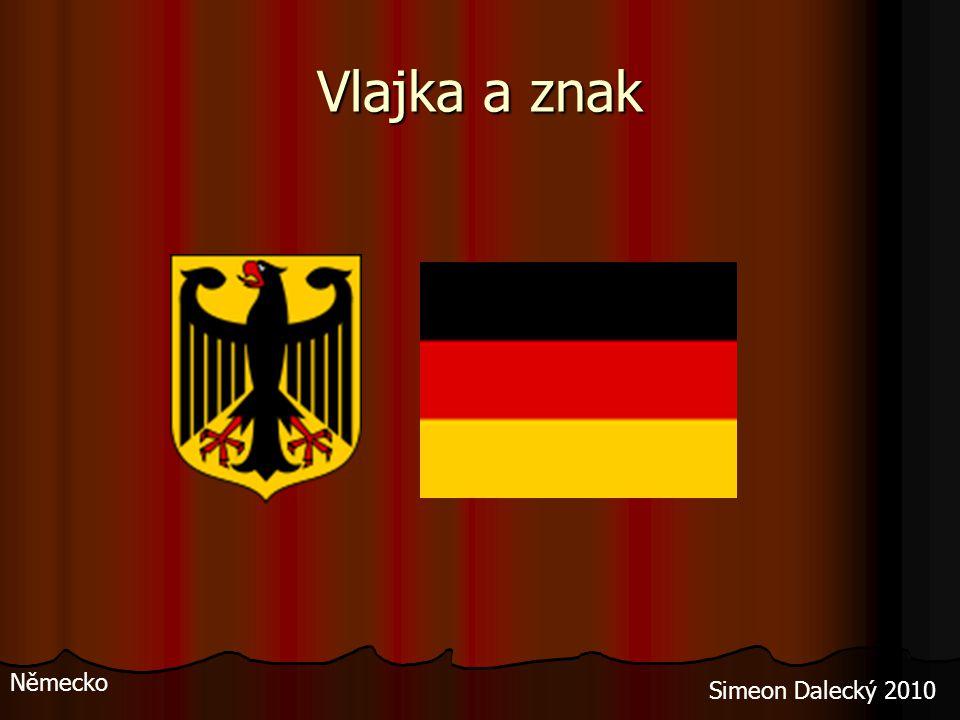 Vlajka a znak Německo Simeon Dalecký 2010