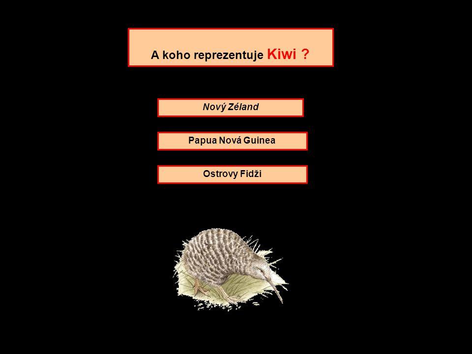 A koho reprezentuje Kiwi