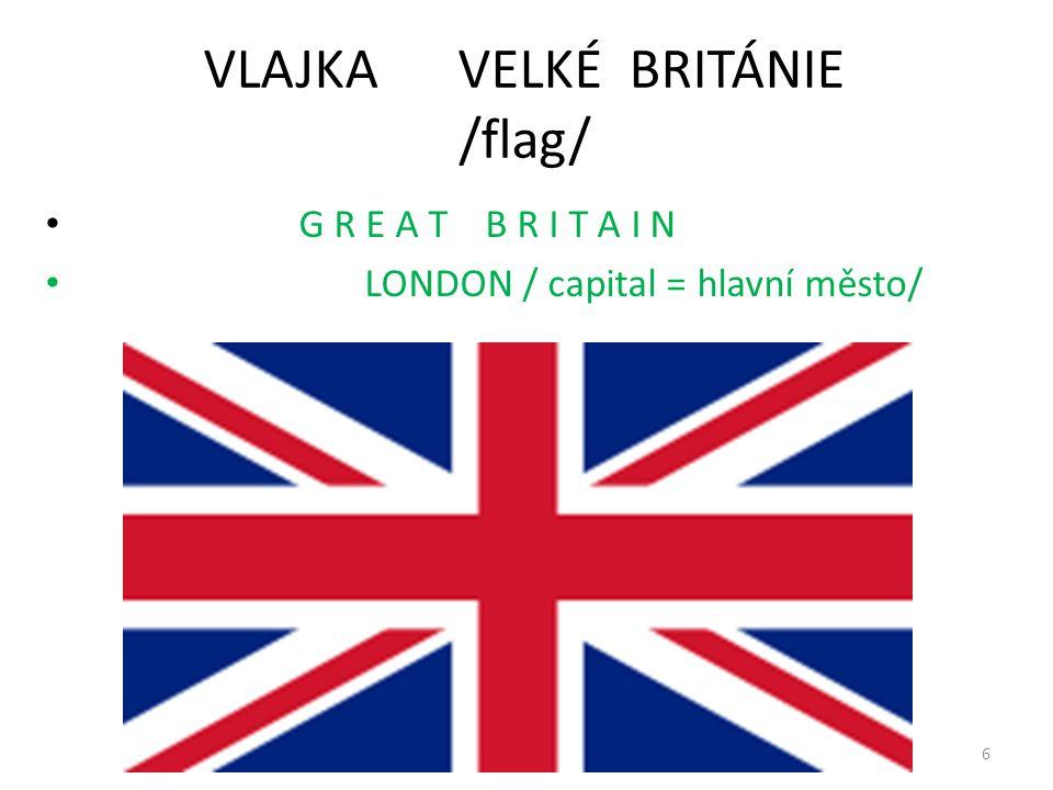 VLAJKA VELKÉ BRITÁNIE /flag/