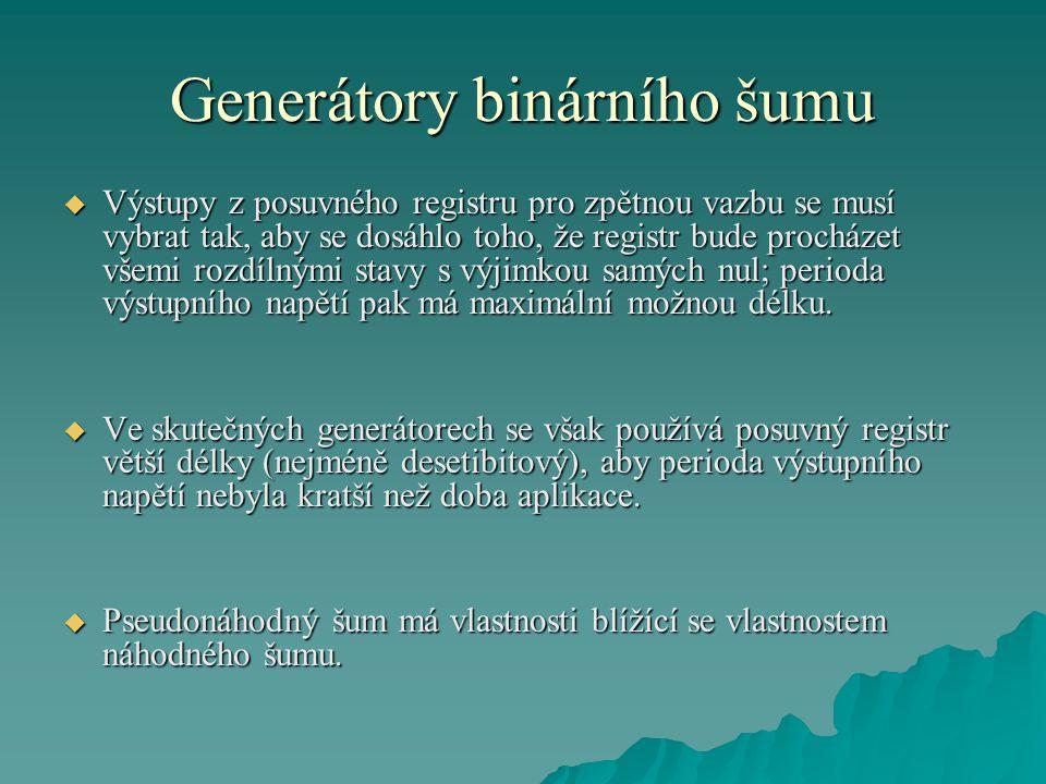 Generátory binárního šumu