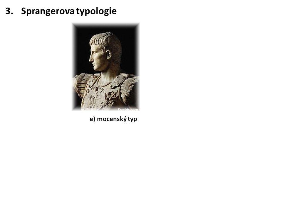 Sprangerova typologie