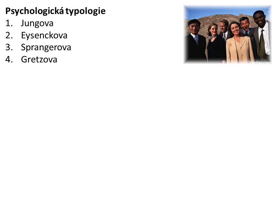 Psychologická typologie