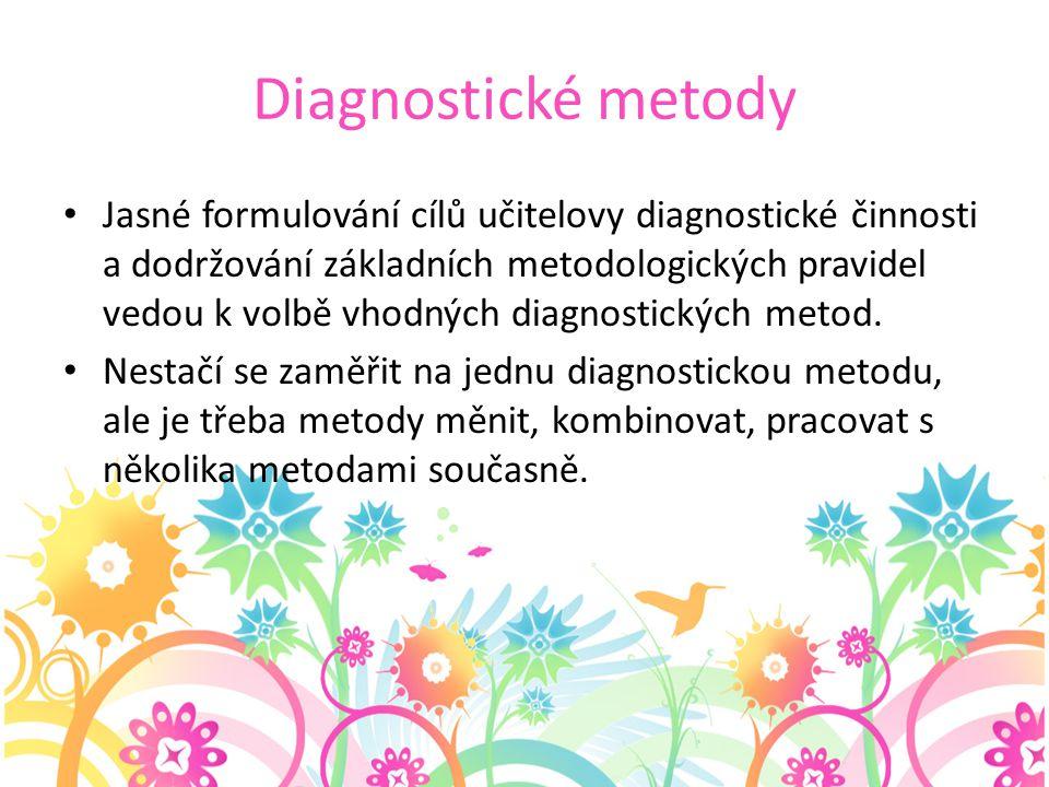 Diagnostické metody