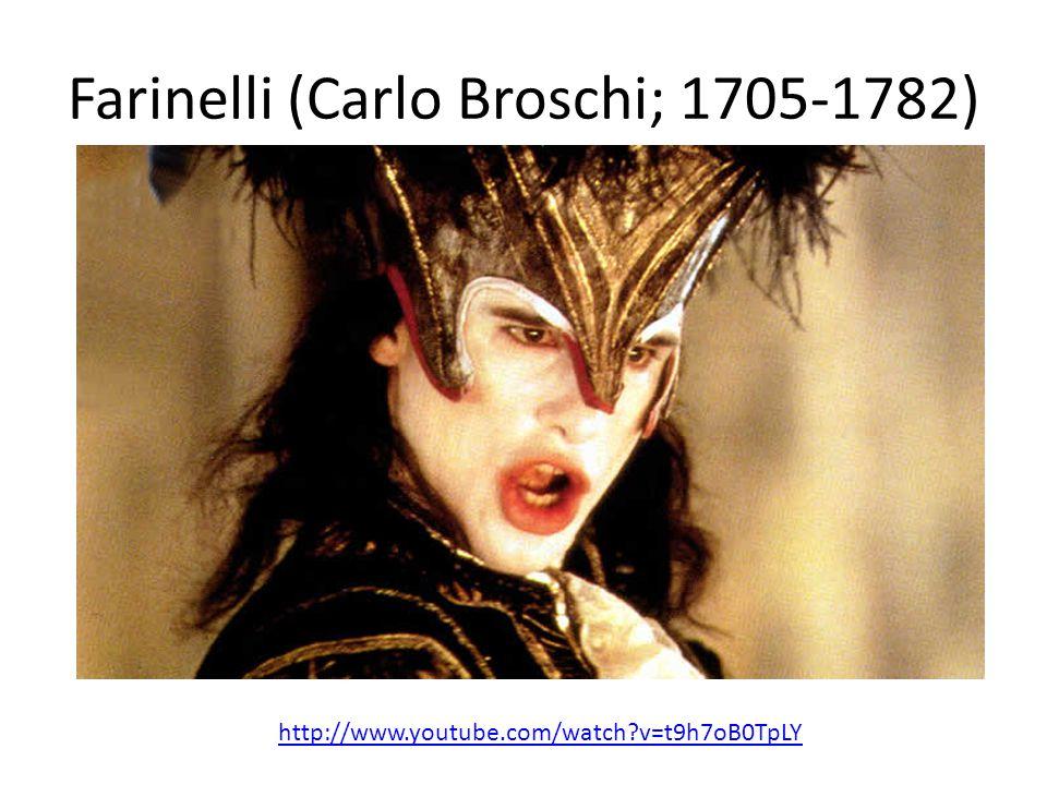 Farinelli (Carlo Broschi; 1705-1782)