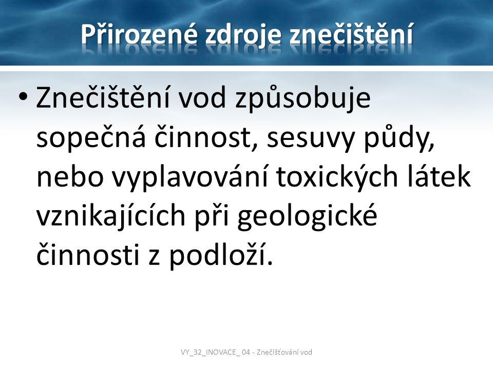 Přirozené zdroje znečištění