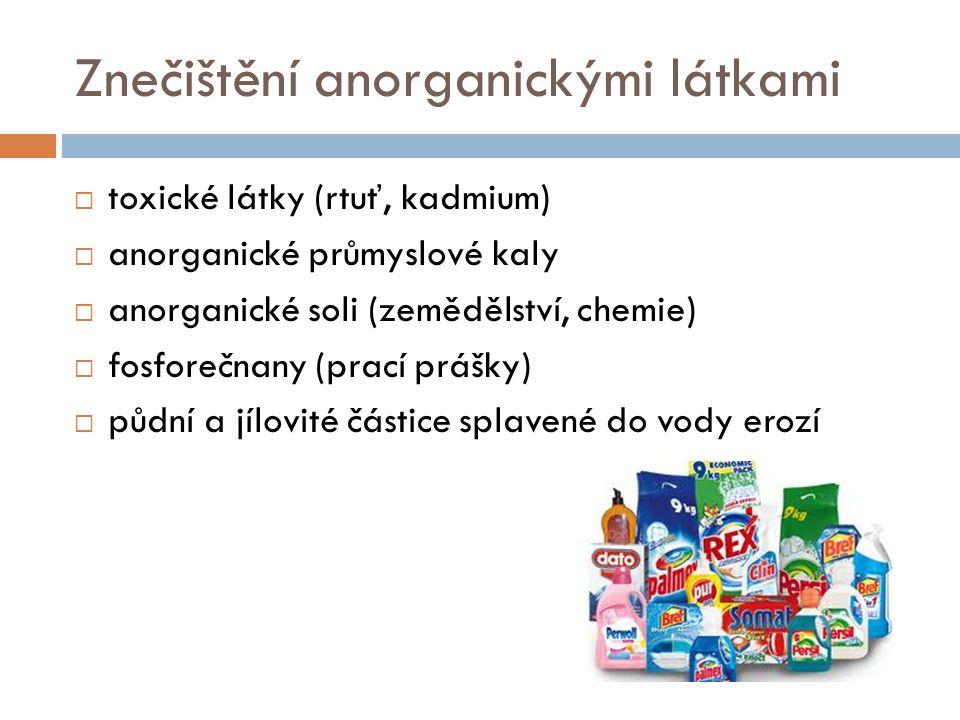 Znečištění anorganickými látkami
