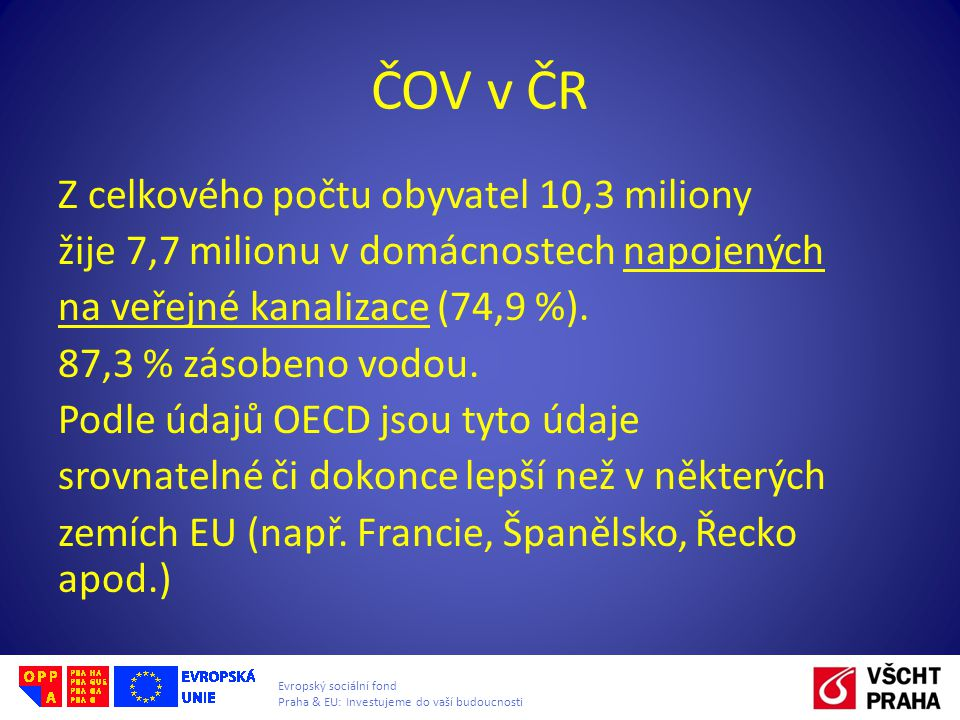 ČOV v ČR