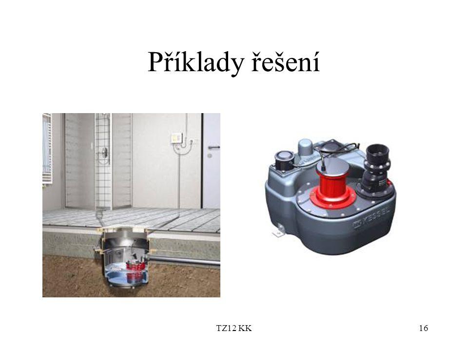 Příklady řešení TZ12 KK