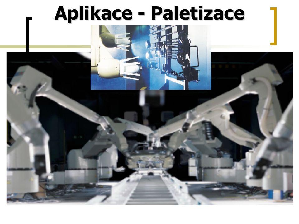 Aplikace - Paletizace