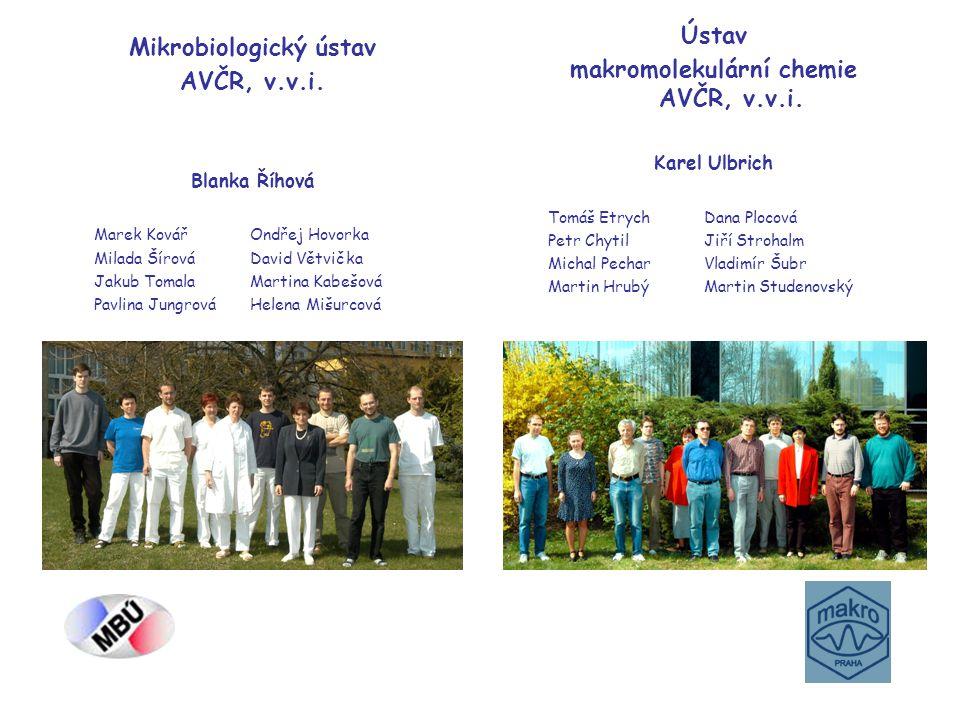 makromolekulární chemie AVČR, v.v.i. Mikrobiologický ústav
