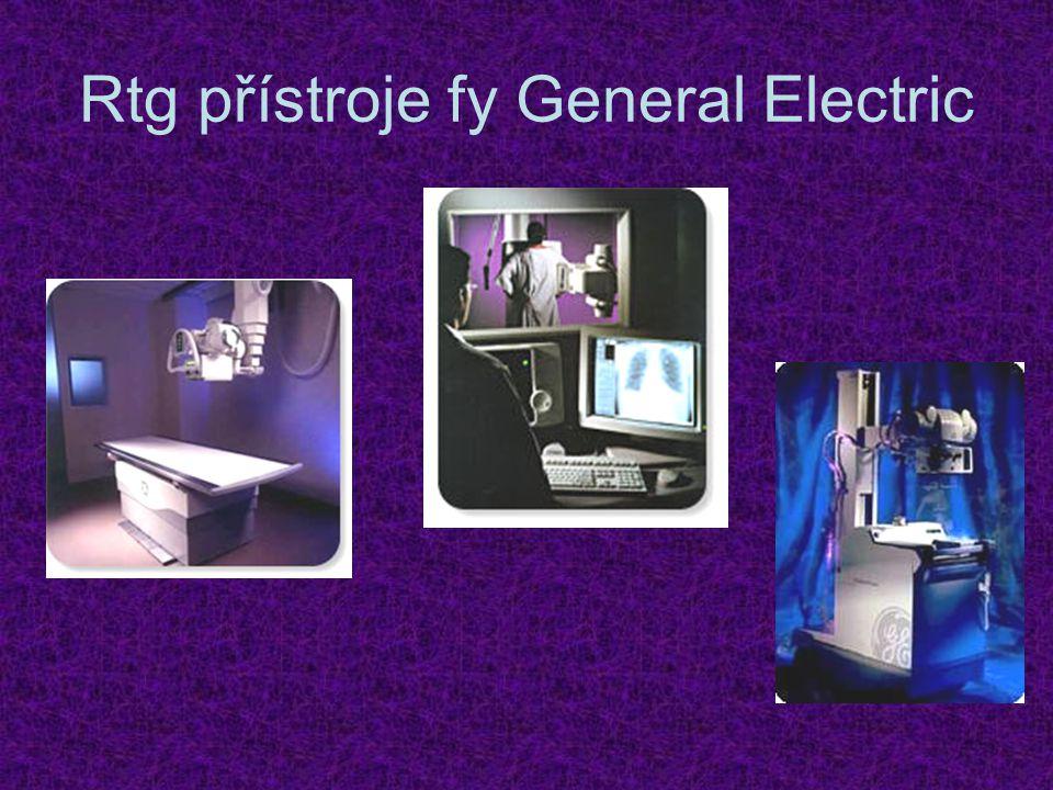 Rtg přístroje fy General Electric